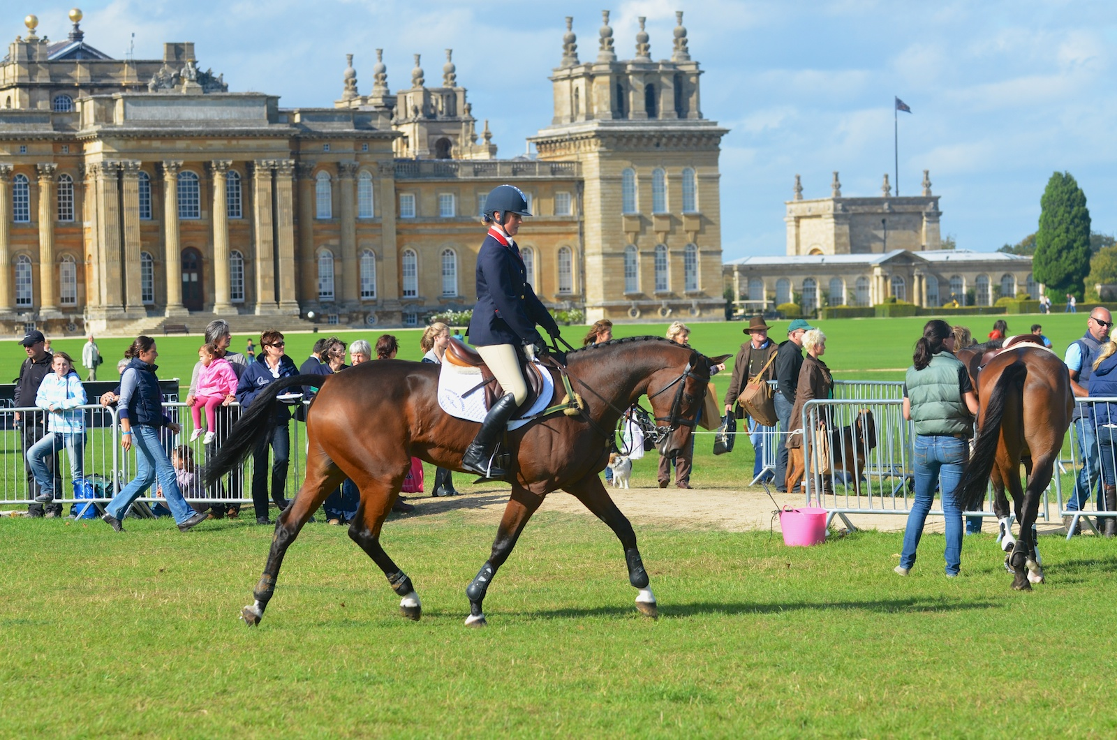 Piggy French Warms Up To Win Blenheim CCI***