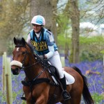 Katie Preston Smiling As She Gallops Through The Bluebells - Who Wouldn't!