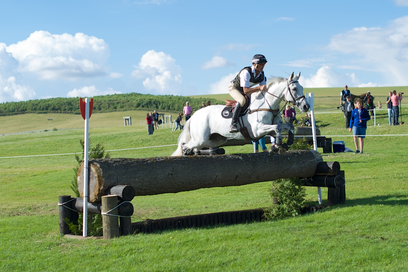 Andrew Nicholson & Avebury Notch Up Their Third Win At Barbury