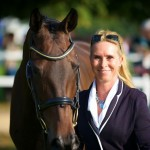 Great to see Bettina Hoy back at Blenheim