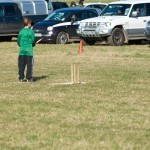For The Non-Horsey There Was 'Car Park Cricket'