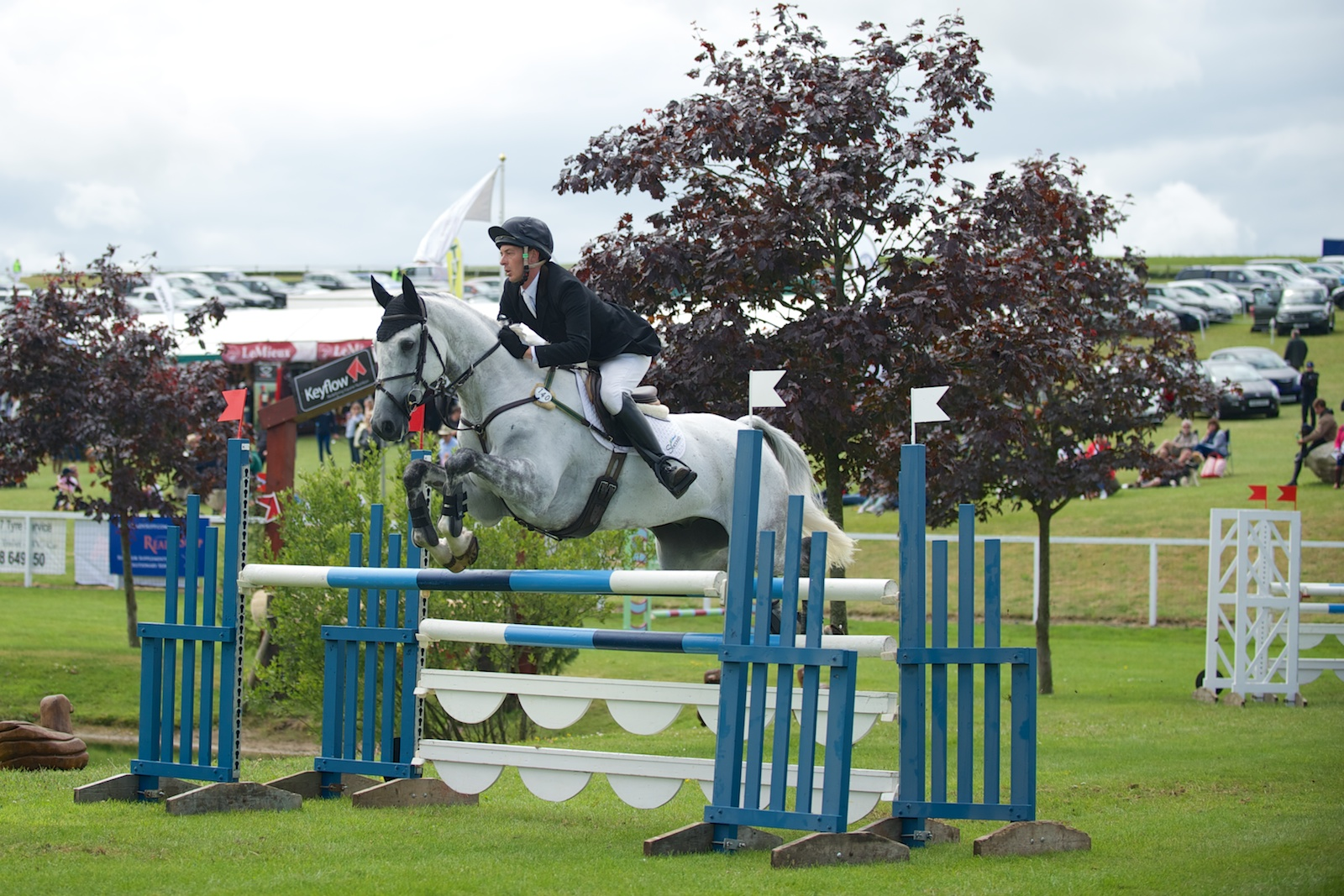 Billy Bounce & Chris King 5th After Show Jumping