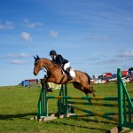 Showjumping At Larkhill