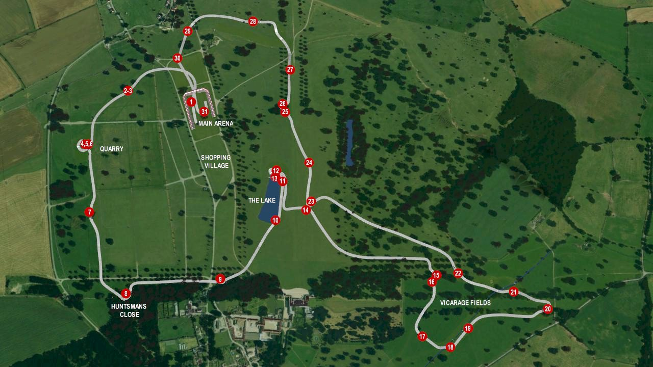 5 things about the 2015 badminton cross country course