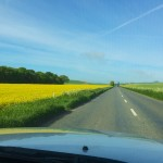 Beautiful Drive Through Wiltshire Countryside