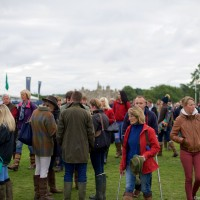 Crowds Arriving Thick & Fast For The Land Rover Burghley Horse Trials 2015