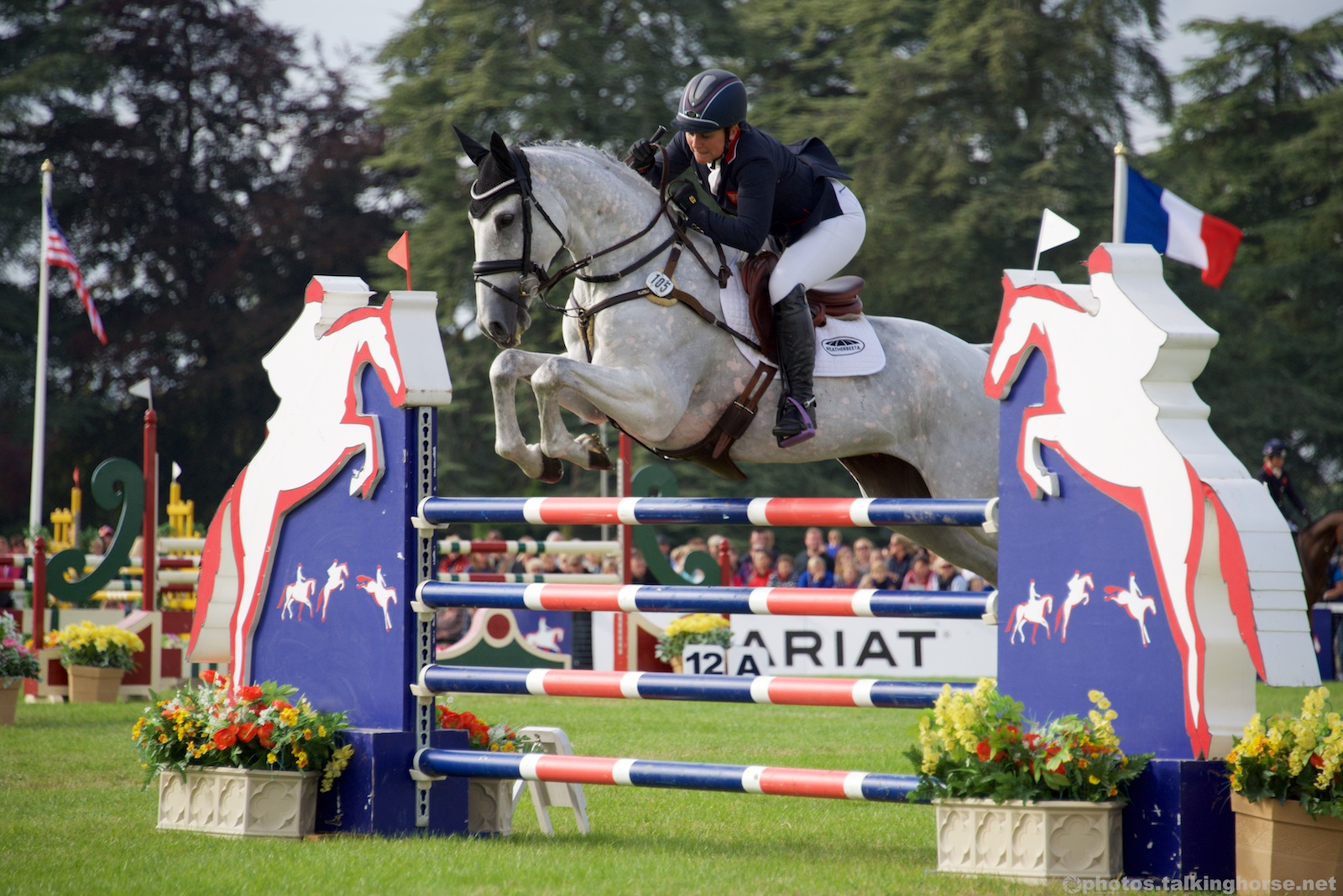 British Rider Gemma Tattersall & Quicklook V - 4th Place