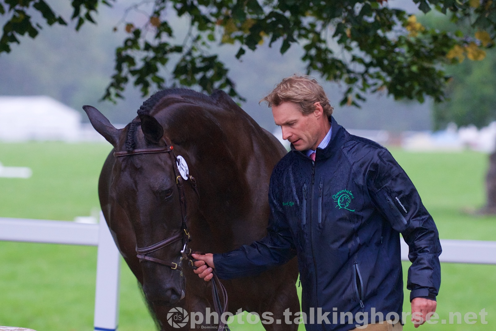 Mark Kyle | Blenheim Horse Trials 2015 Trot-Up