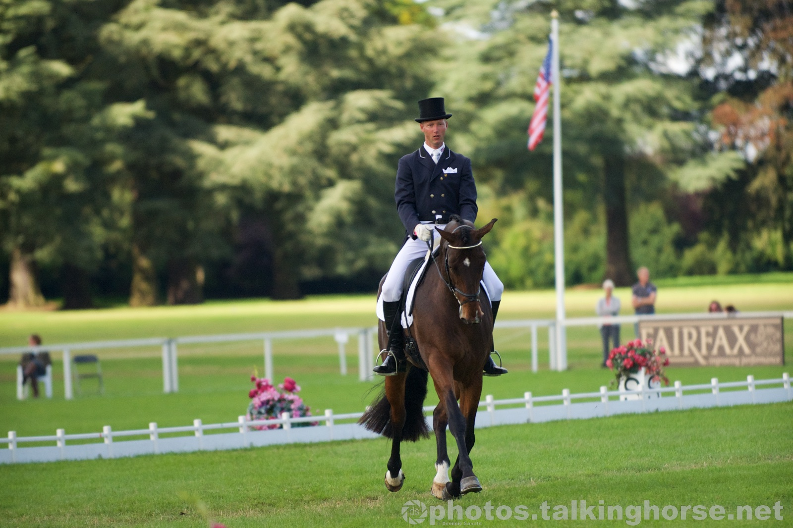 Clark Montgomery & Loughan Glen Lead The Field After Dressage