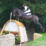 Sam Griffiths & On The Brash   Blenheim Horse Trials 2015 Cross Country
