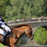 Sophie Beaty & Pink Gin   Blenheim Horse Trials 2015 Cross Country