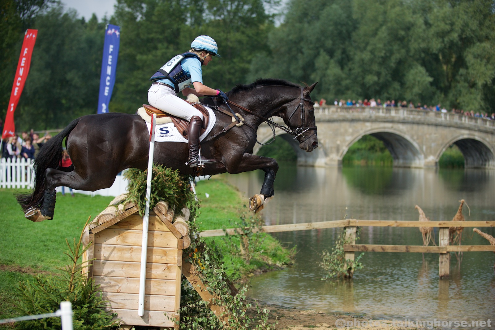 Jonelle Price & Cloud Dancer - Winners of the Blenheim Horse Trials CIC*** 2015