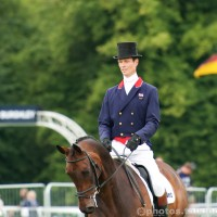 William Fox-Pitt Reins In German Domination Of The Burghley Dressage