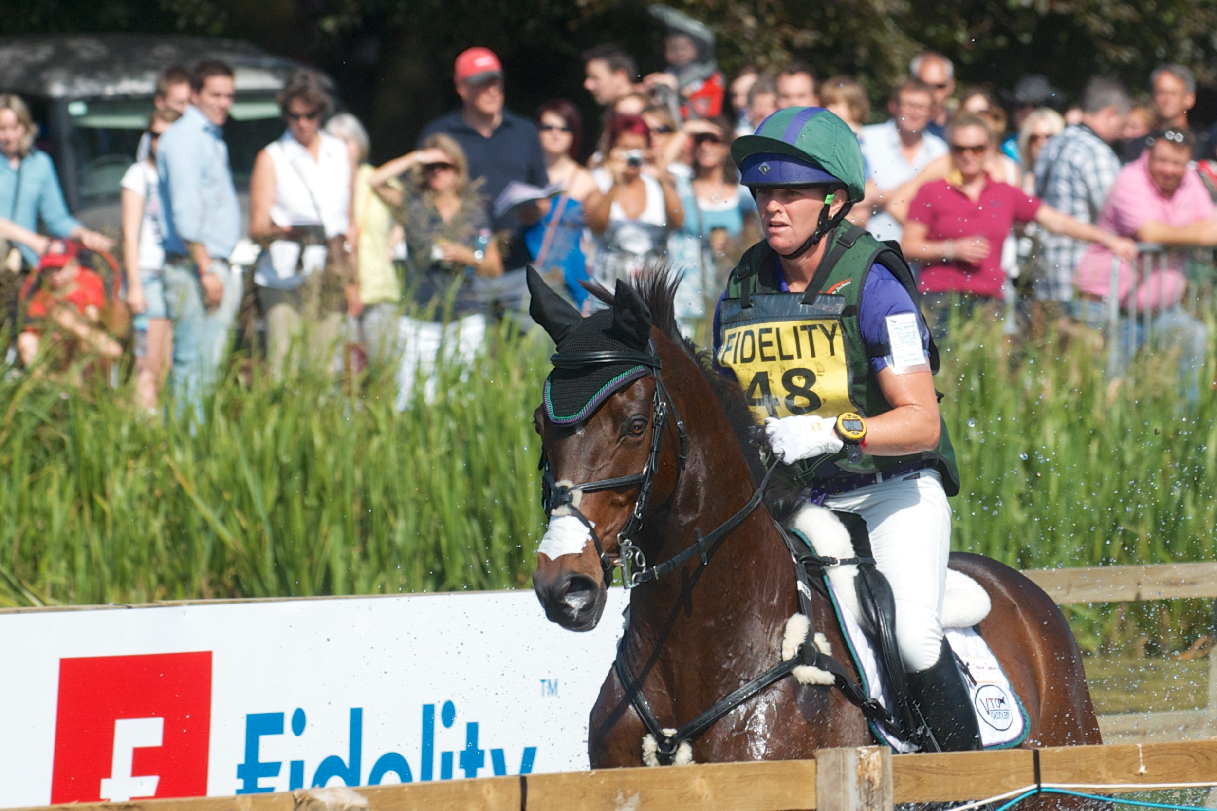 Emily Beshear, One of Many American Riders Entered For Blenheim This Year