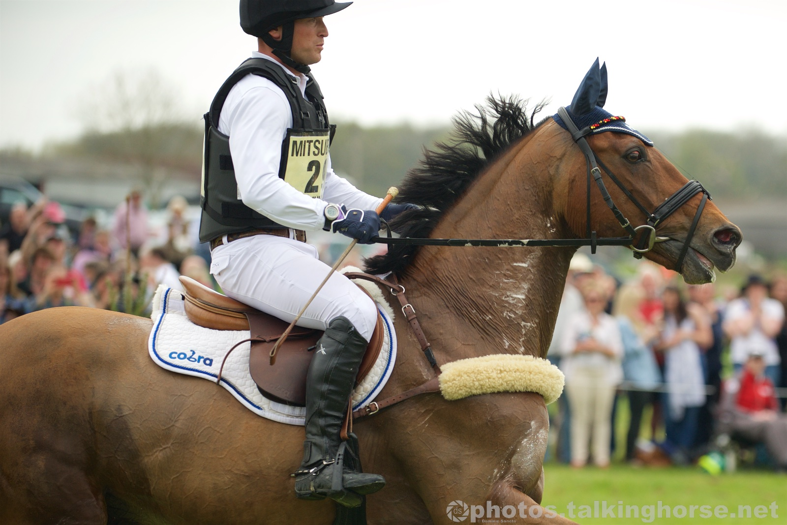 Michael Jung & La Biosthetique - Sam FBW - Rolex Grand Slam Winner - Badminton Horse Trials 2016