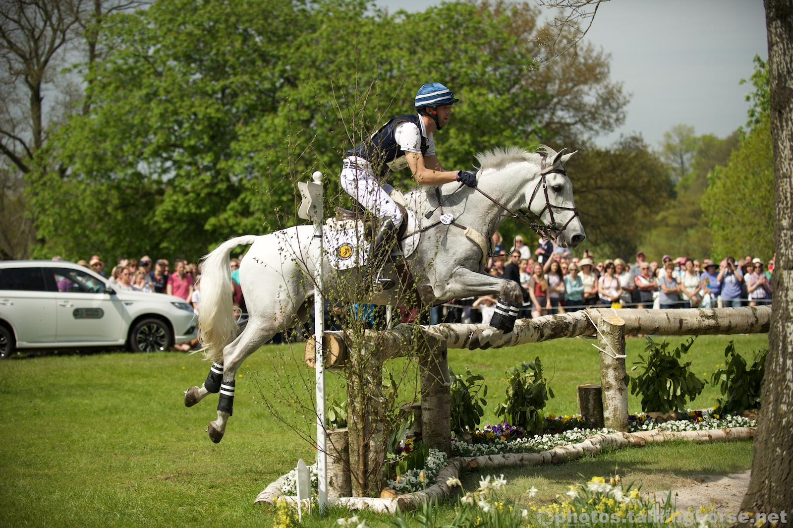 Clarke Johnstone & Balmoral Sensation   | Badminton Horse Trials 2016 Cross Country