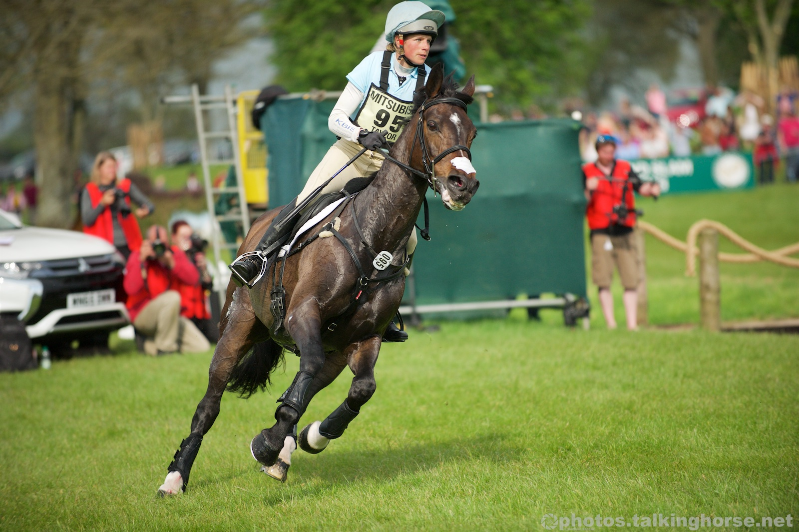 Izzy Taylor & Allercombe Ellie   | Badminton Horse Trials 2016 Cross Country