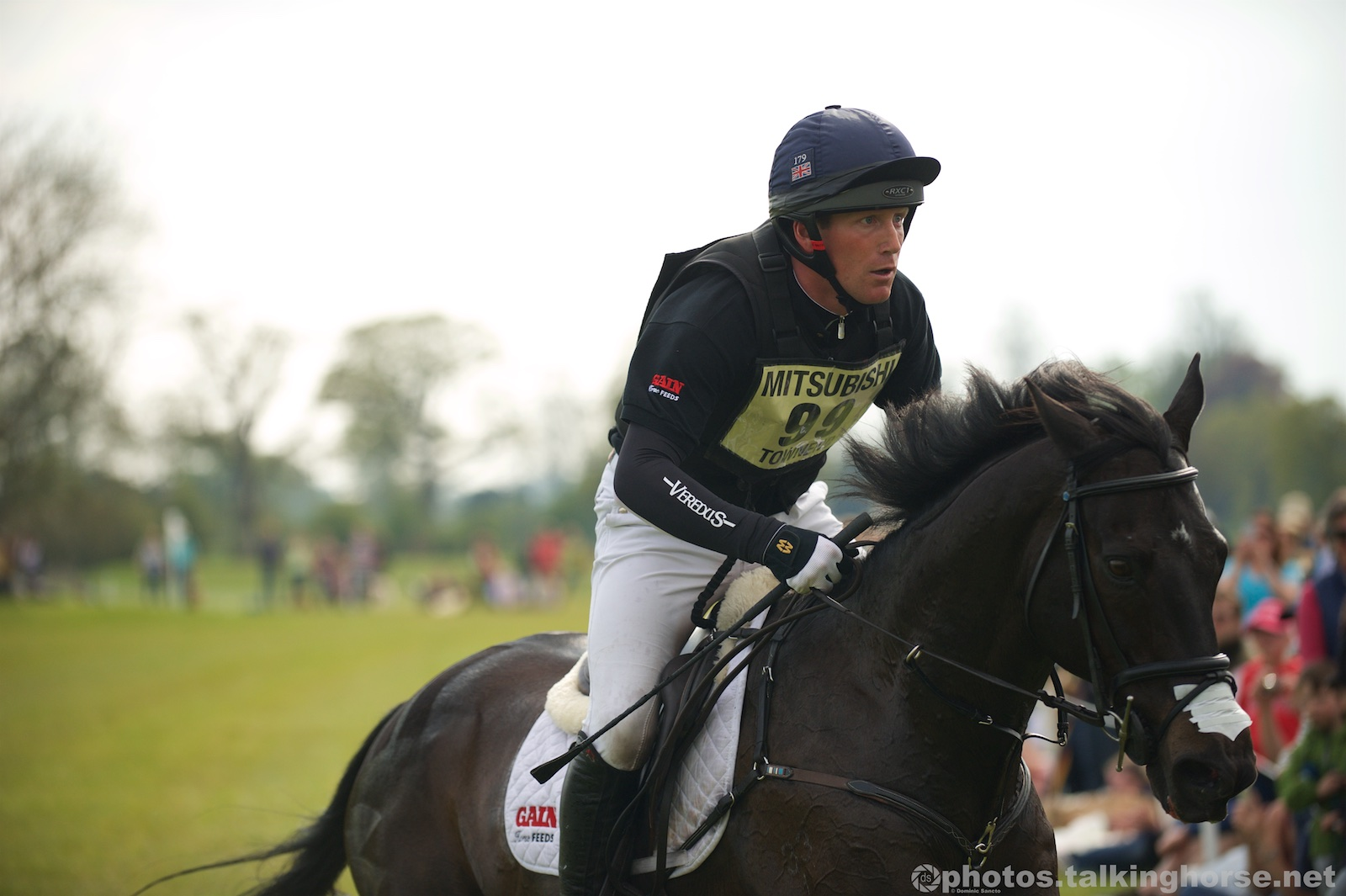Oliver Townend & Black Tie   | Badminton Horse Trials 2016 Cross Country