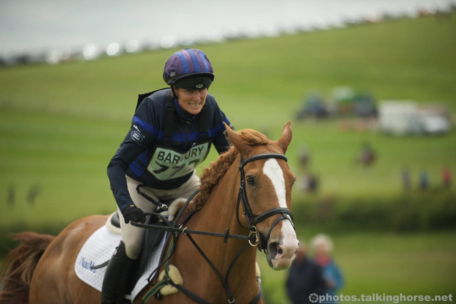 Zara Tindall Had A Frustrating Run-Out In Today's Novice Class